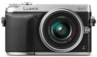 Panasonic DMC-GX7K 16MP DSLM Camera with 14-42mm Lens Instant Rebate