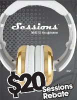CAD Audio The Sessions MH510 Headphones Mail-In Rebate Offer