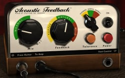 Softube Acoustic Feedback Guitar Feedback Simulator Plugin Instant Rebate