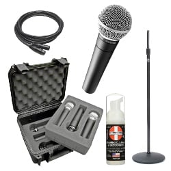 Shure SM58 Band Pack Full Compass Exclusive Bundle Offer