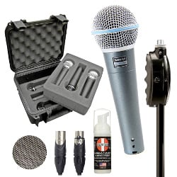 Shure Beta58 Band Pack Full Compass Exclusive Bundle Offer