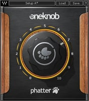 Waves OneKnob Phatter Bass Boost Plugin Instant Rebate