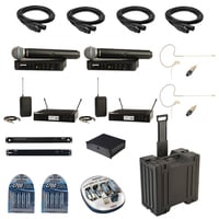 Shure BLX Combo Pack Full Compass Exclusive Bundle Offer
