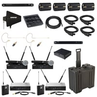 Shure QLXD Combo Pack Full Compass Exclusive Bundle Offer