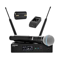 Shure QLXD24/58/SB900/100 Handheld Wireless System Full Compass Exclusive Bundle Offer