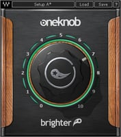 Waves OneKnob Brighter Treble Booster Plugin Instant Rebate