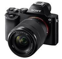 Sony ILCE7K/B Mirrorless DSLR Camera Instant Rebate