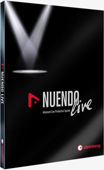 Yamaha QL and TF Console Free Nuendo Live Offer