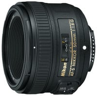 Nikon 2199 AF-S 50mm f/1.8G Prime Fixed Lens Instant Rebate.