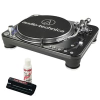 Audio Technica ATLP1240 USB Full Compass Exclusive DJ Bundle Offer.