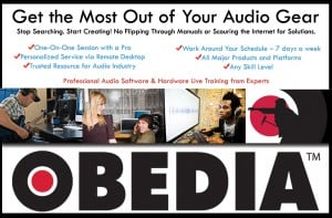 Tascam USB Interface Series Free Obedia Software Training Subscription Offer