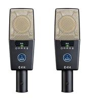 AKG C414XLS Stereo Pair Buy One Get One Half Off Promotion