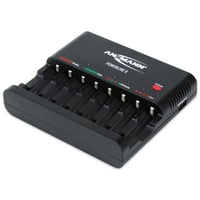 Ansmann Battery Charger With FREE Batteries Included