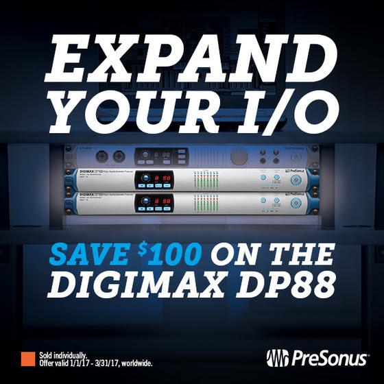 PreSonus DP88 8 Channel A/D/A Converter Instant Rebate