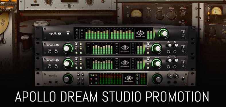 Universal Audio Apollo 8 Quad, P Or 16 Free Dream Studio 2 Plugin Bundle Offer