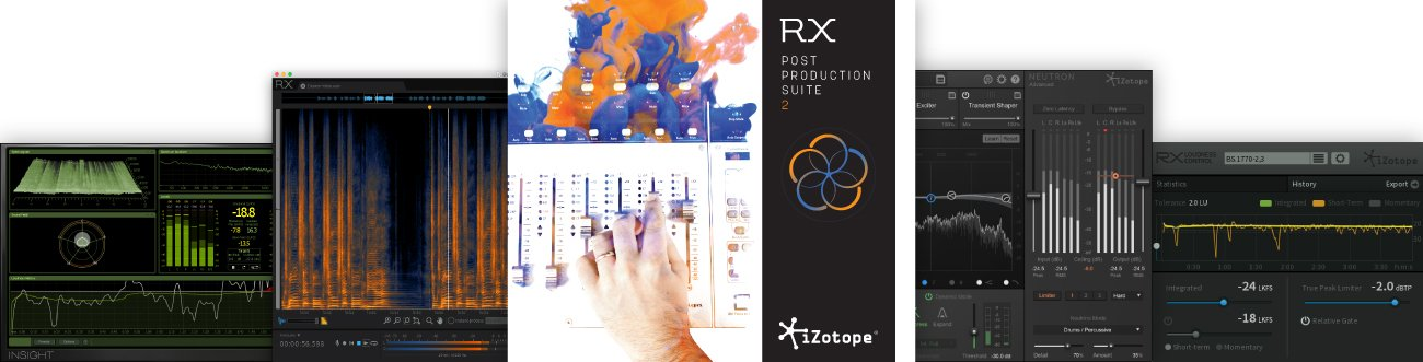 iZotope RX Post Production Suite 2.1 Software Instant Rebate