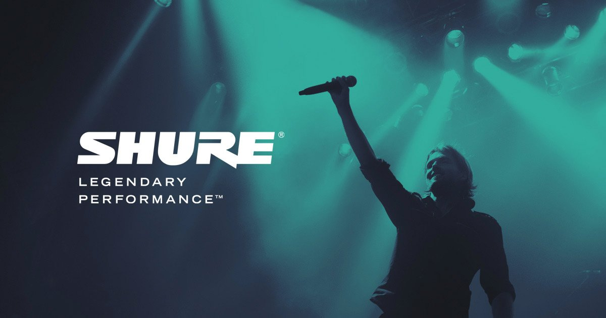 Shure 600MHZ Wireless Trade In Rebate Offer