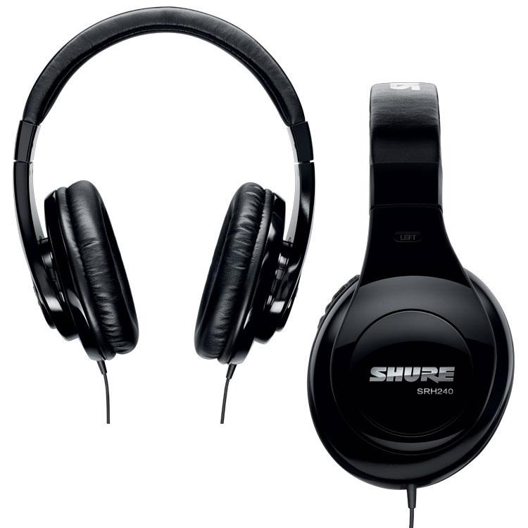 Shure SRH240A Headphones Instant Rebate