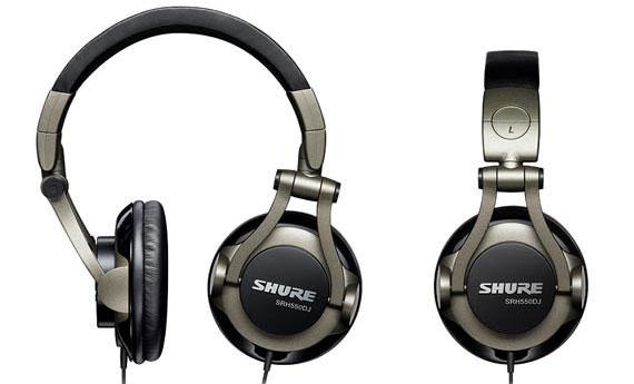 Shure SRH550DJ Headphones Instant Rebate