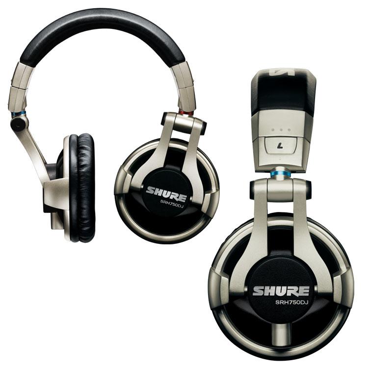 Shure SRH750DJ Headphones Instant Rebate