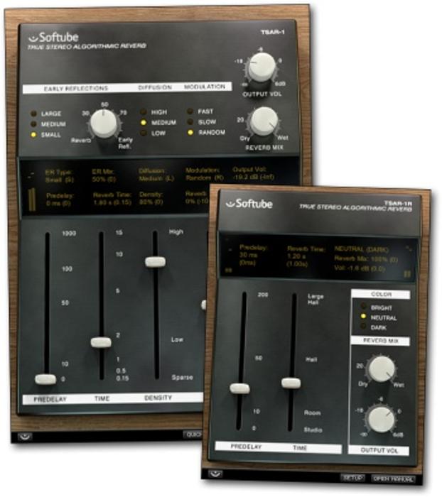 Softube TSAR-1 Reverb Plugin Instant Rebate