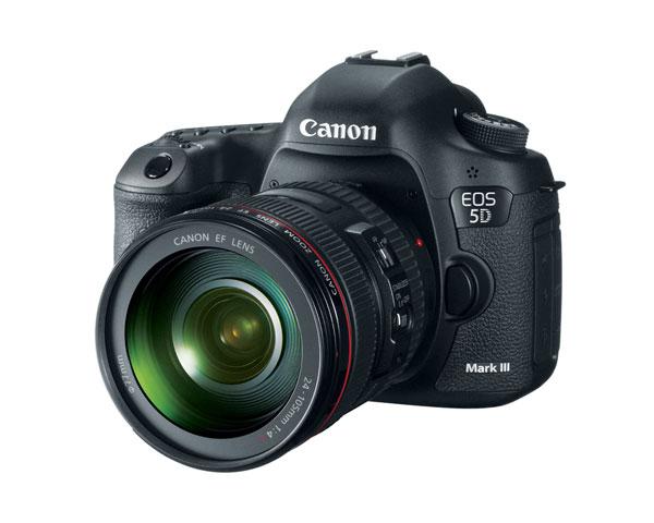 Canon EOS 5D Mark III 24-105 DSLR Kit Instant Rebate