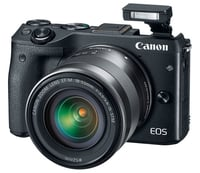 Canon EOS M3 DSLR Camera with 18-55 mm Lens Instant Rebate