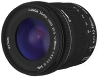 Canon 9519B002 EF-S 10-18 mm f/4.5-5.6 IS STM Ultra-Wide Zoom Lens Instant Rebate