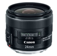 Canon 5345B002 EF 24mm f/2.8 IS USM Ultra Wide Angle Lens Instant Rebate