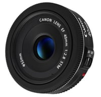 Canon 6310B002 EF 40mm f/2.8 STM Telephoto Lens Instant Rebate