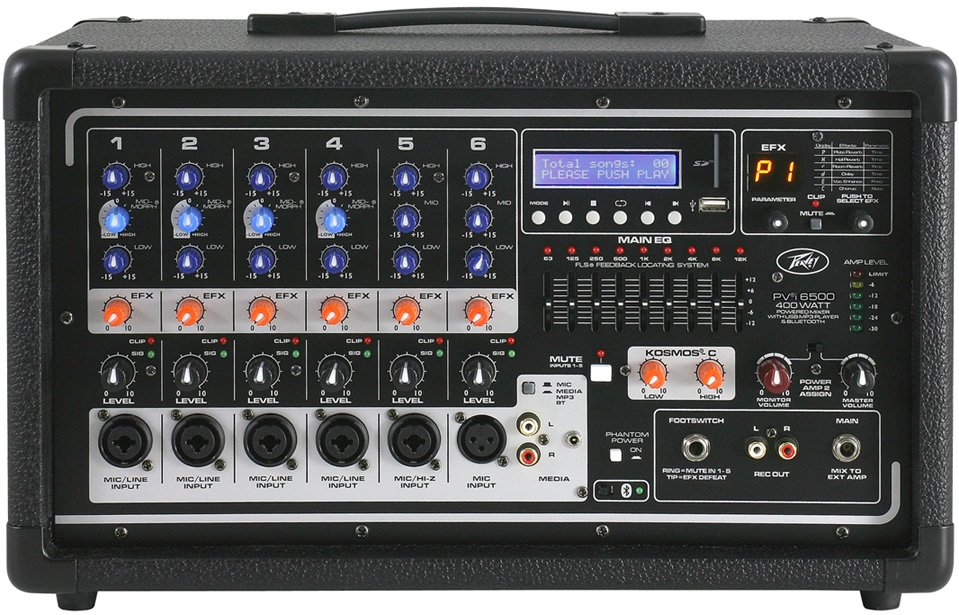 Peavey PVi 6500 6 Channel Powered Mixer Instant Rebate