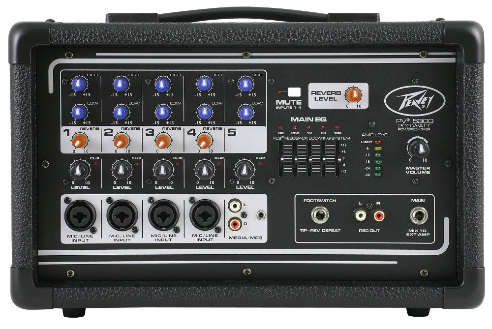 Peavey PV 5300 4 Channel Powered Mixer Instant Rebate