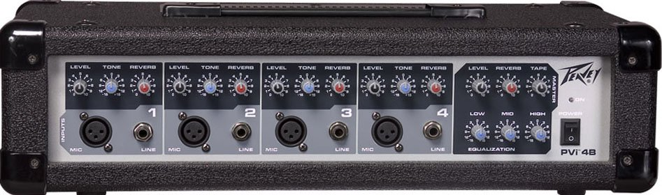 Peavey PVI  4B 4 Channel Powered Mixer Instant Rebate