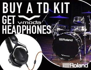 Roland Free V-MODA M-100 Headphones Offer