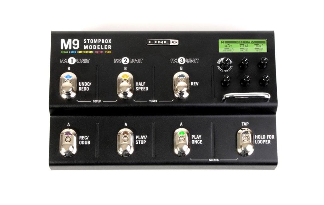 Line 6 M9 Stompbox Modeler Instant Rebate
