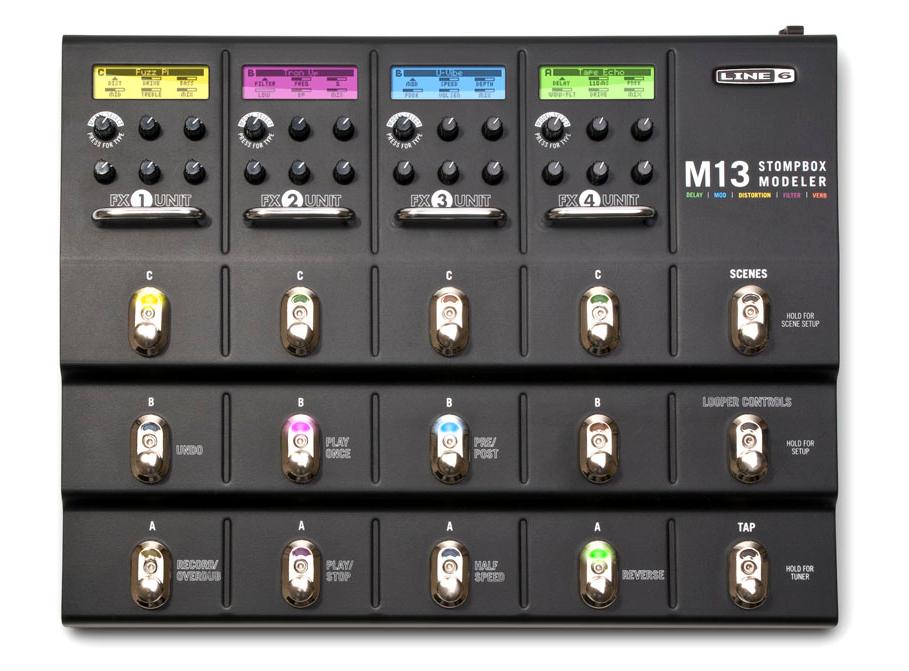 Line 6 M13 Stompbox Modeler Instant Rebate