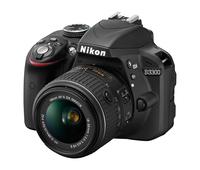 Nikon 1532 / 1533 D3300 DSLR Camera with NIKKOR 18-55 mm Lens Instant Rebate