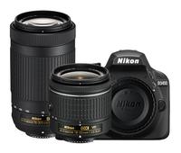 Nikon 1573 D3400 DSLR Two Lens Kit Instant Rebate