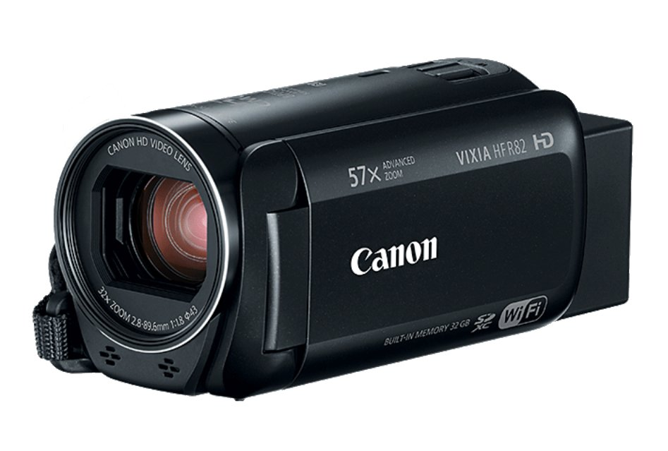 Canon HFR82 57X Zoom 3.28MP HD Camcorder Instant Rebate