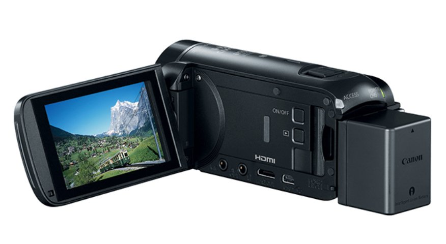 Canon HFR80 57X Zoom 3.28MP HD Camcorder Instant Rebate