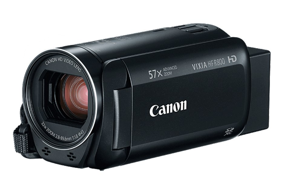 Canon HFR800 57X Zoom 3.28MP HD Camcorder Instant Rebate