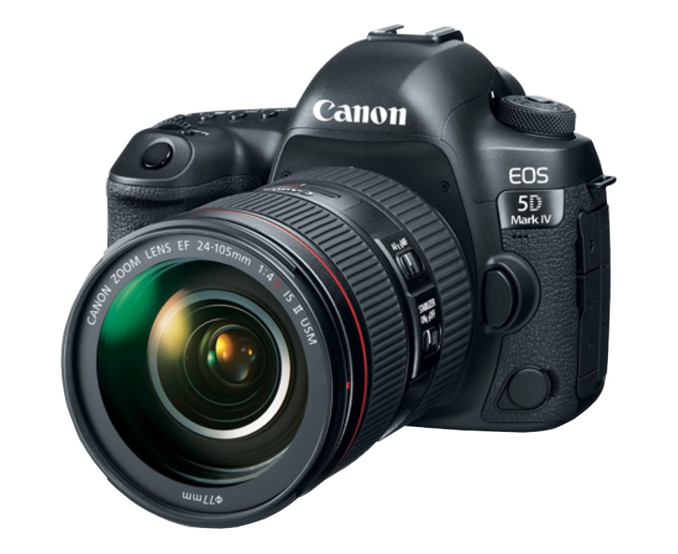 Canon EOS 5D MKIV 24-70mm Kit Instant Rebate