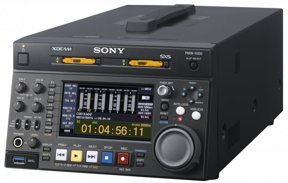 Sony PMW-1000 HD MEmory Card Recorder