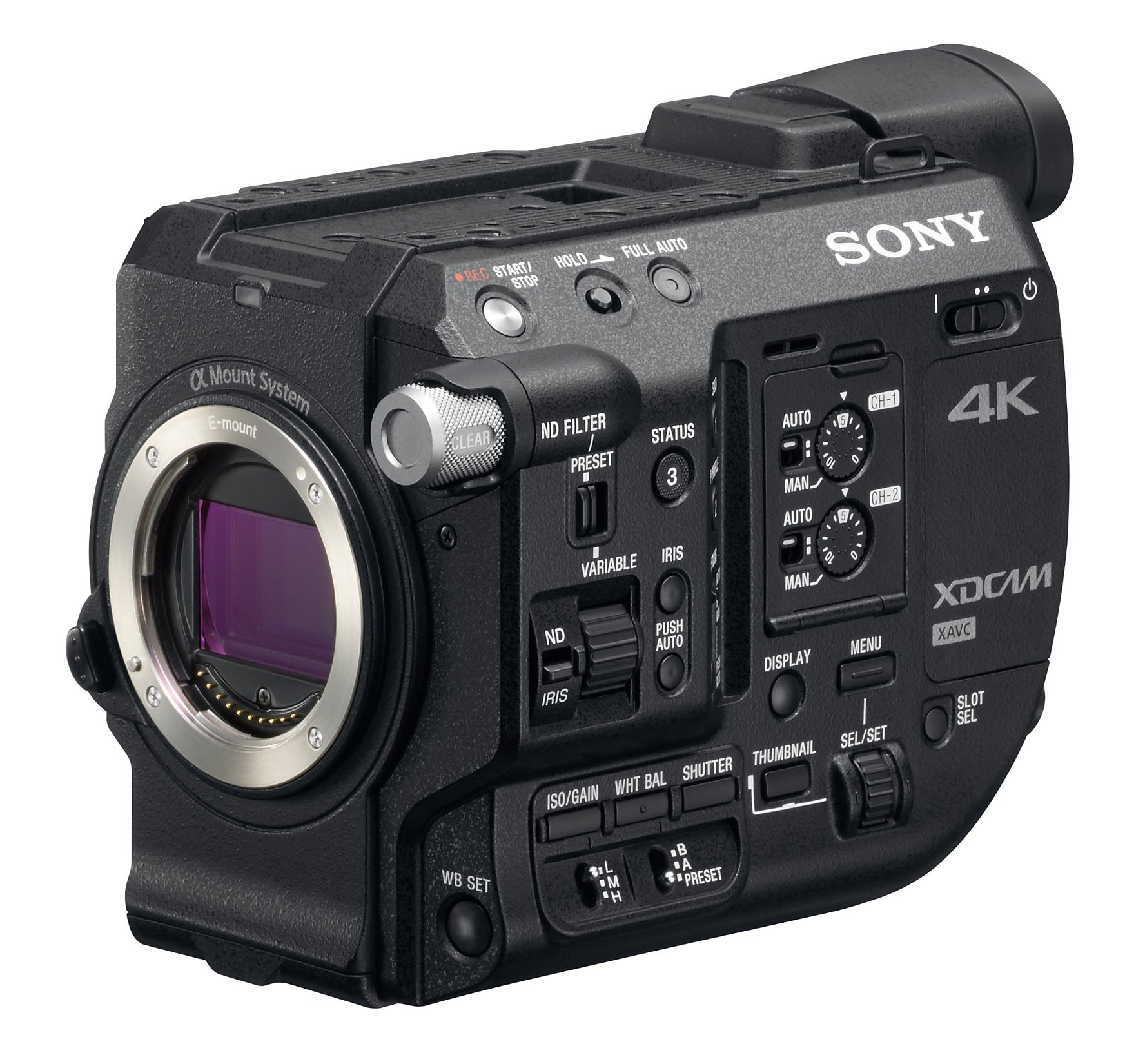 Sony PXW FS5 4K XDCAM Camcorder Body Instant Rebate