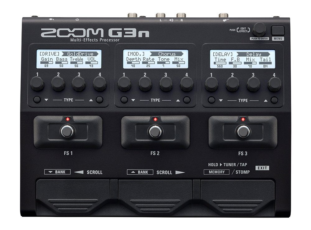 Zoom G3N Multi-Effects Processor Instant Rebate