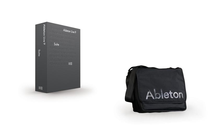 Ableton Live 9 Suite And Equipment Bag Exclusive Bundle