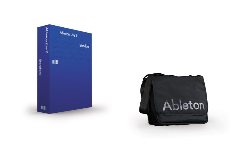 Ableton Live 9 Standard And Equipment Bag Exclusive Bundle