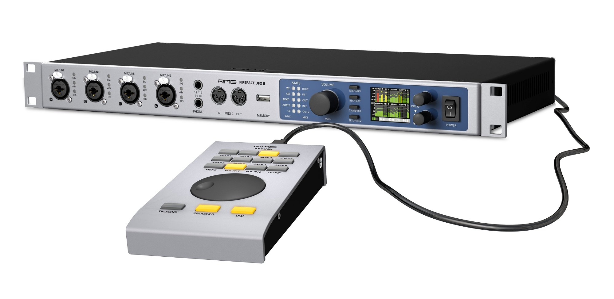 RME Fireface UFX II Free ARC Controller Offer
