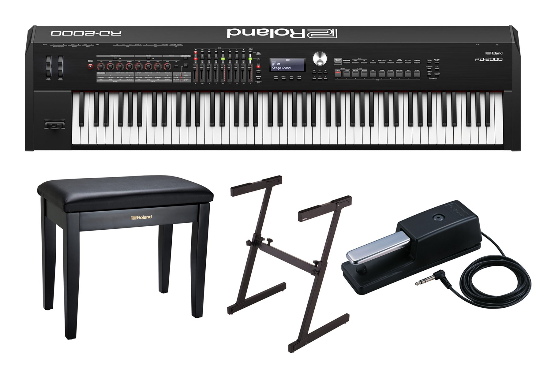 Roland RD 2000 Full Compass Exclusive Bundle Offer