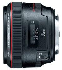 Canon 1257B002 EF USM 50mm Lens Instant Rebate